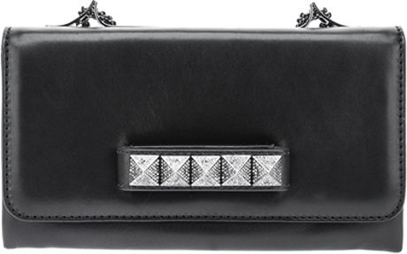 Valentino Studded Clutch in Black