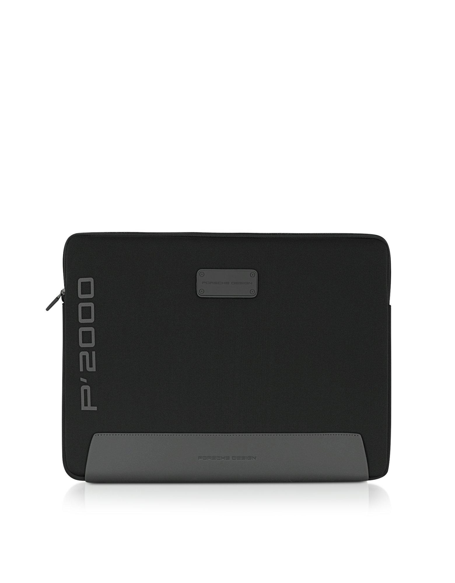 porsche design p black nylon 17 laptop case in black for. Black Bedroom Furniture Sets. Home Design Ideas
