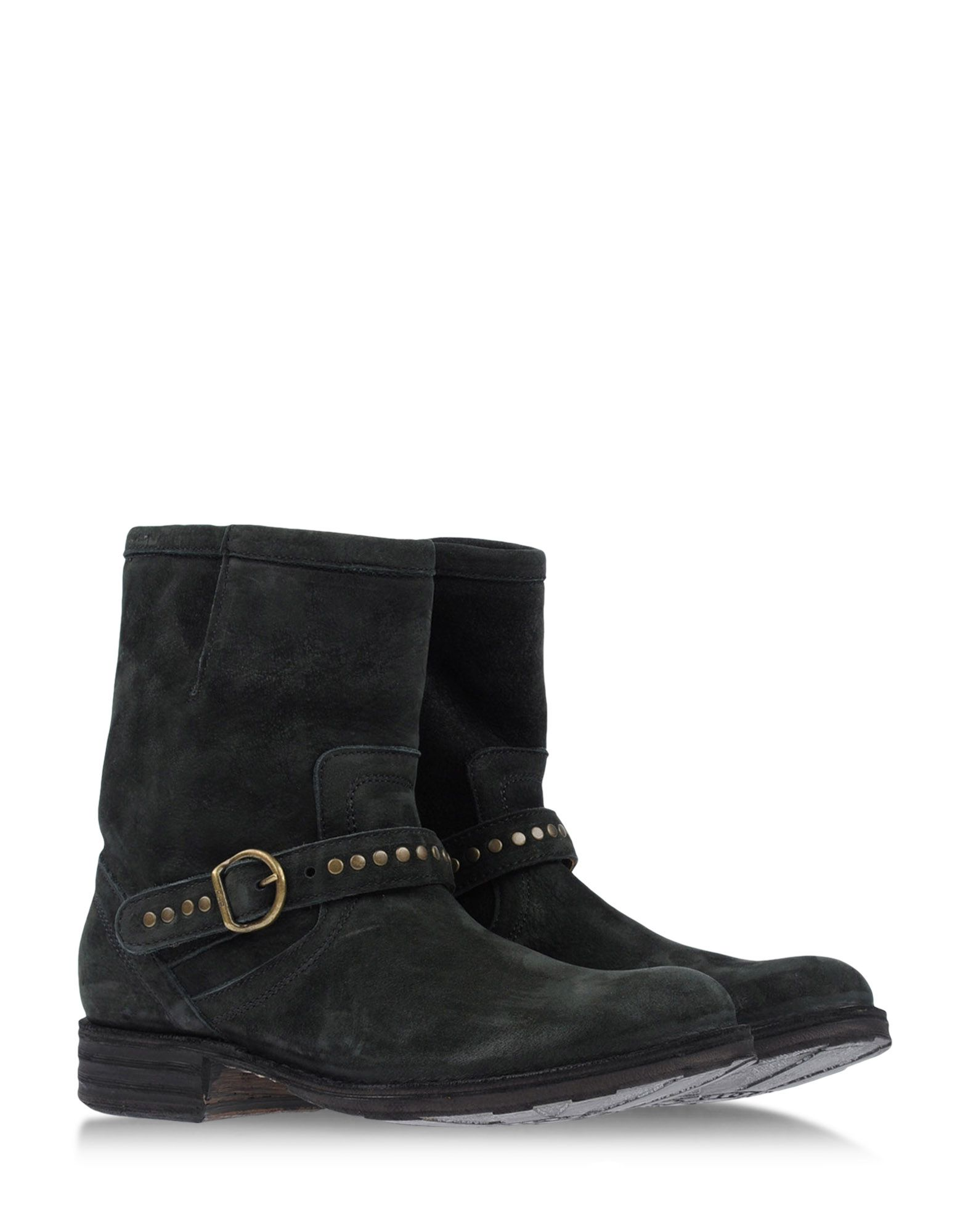 fiorentini baker ankle boots in green dark green lyst. Black Bedroom Furniture Sets. Home Design Ideas