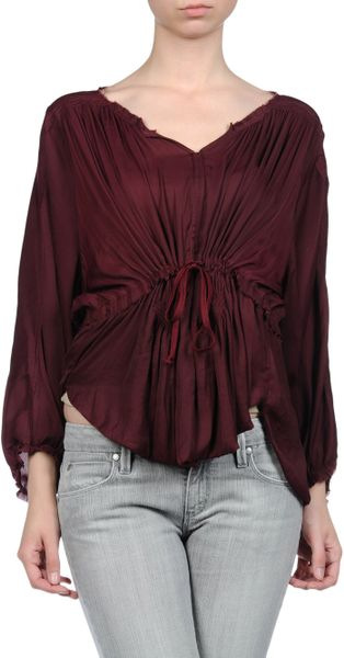 Isabel Marant Blouse in Red (noir)