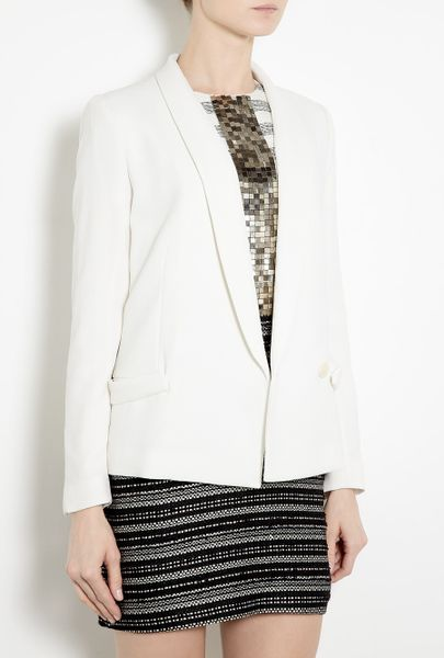 By Malene Birger Niliao Milk Blazer in White