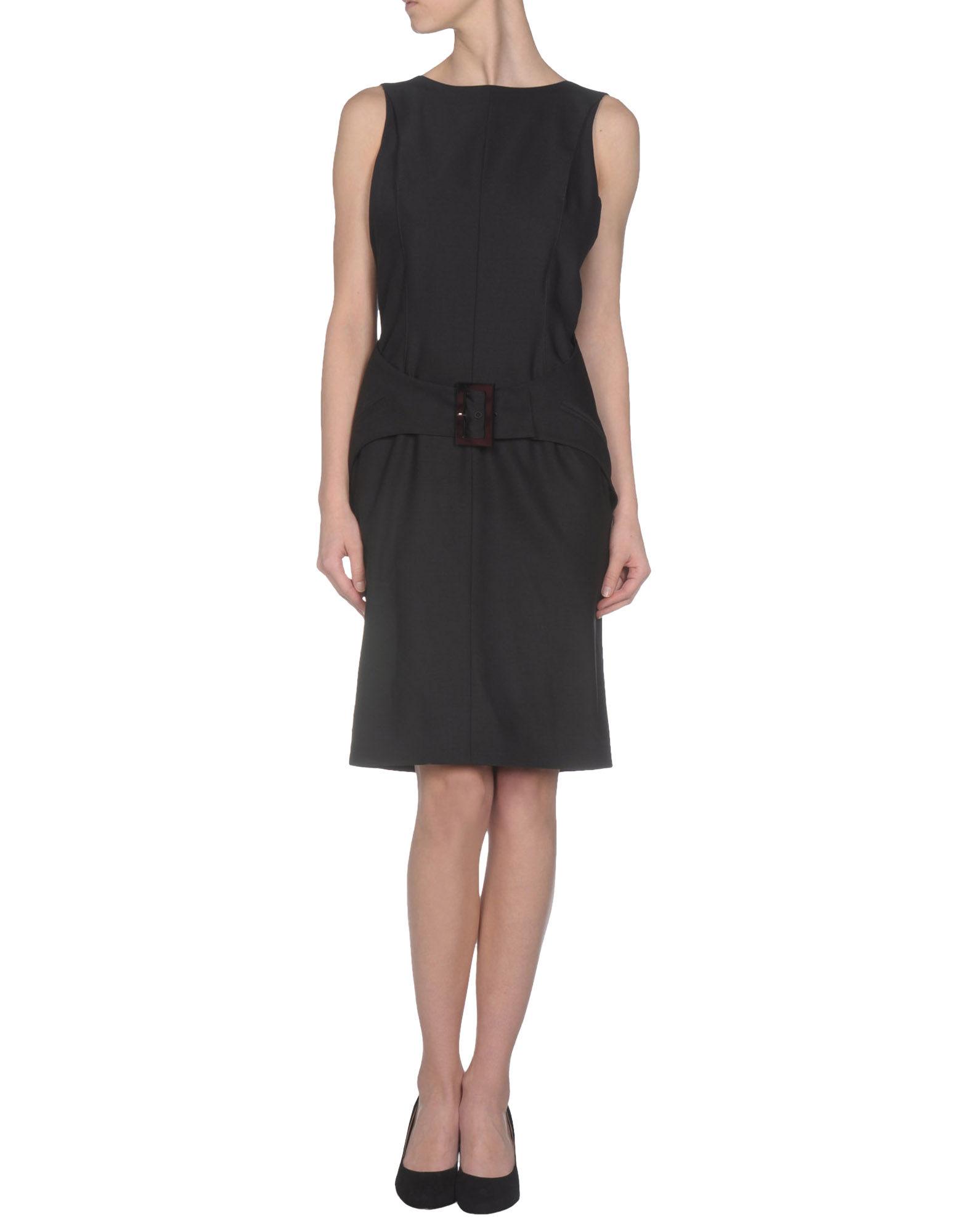 karl lagerfeld short dress in black lyst. Black Bedroom Furniture Sets. Home Design Ideas