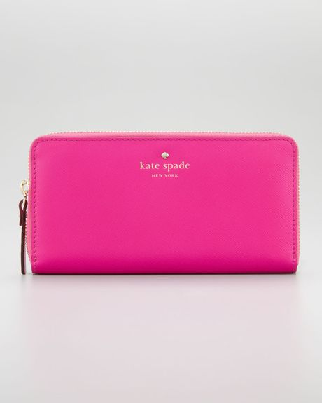 Kate Spade New York Mikas Pond Zip Travel Wallet