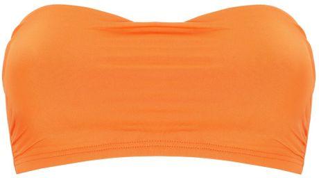 Prism Burnt Orange Hossegor Bandeau in Orange