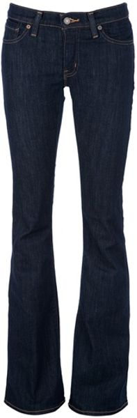 Ralph Lauren Flared Leg Jeans in Blue