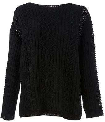 Valentino Multi Knit Jumper - Lyst