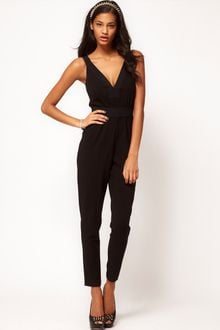 ASOS Collection Asos Jumpsuit with V Front and Back - Lyst