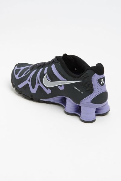separation shoes 90a11 ce7e9 Nike Shox Turbo 13 Running Shoe Women in Purple (violet  black  silver .