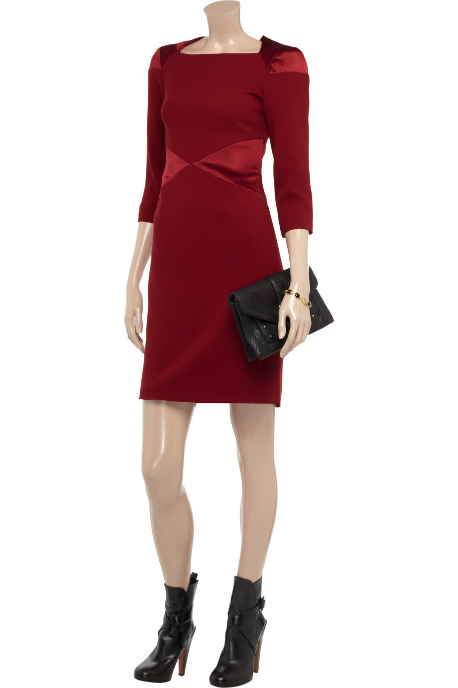 Project d red dress in pretty