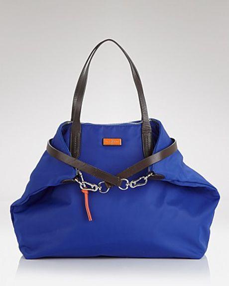 Cole Haan Tote Crosby Nylon in Blue (cobalt corporate orange)