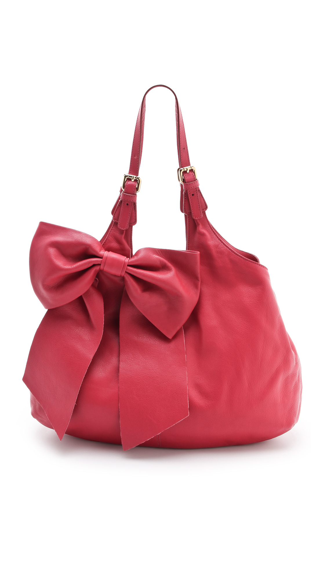 Lyst Red Valentino Bow Shoulder Bag In Red