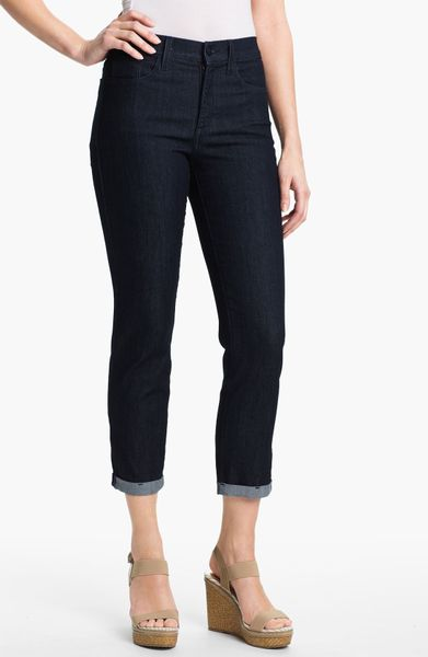 not your daughter 39 s jeans kendall cuffed crop stretch. Black Bedroom Furniture Sets. Home Design Ideas