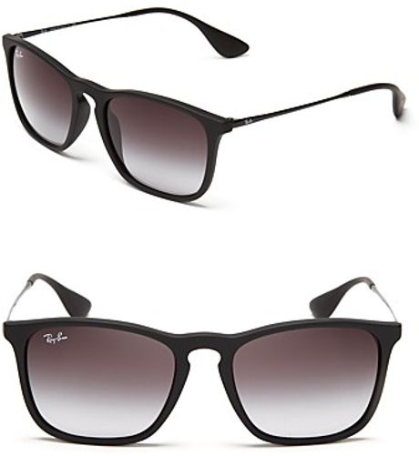 Ray Ban Black Rubber