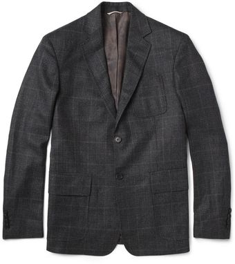 Billy Reid Rustin Prince Of Wales Check Wool Blazer - Lyst