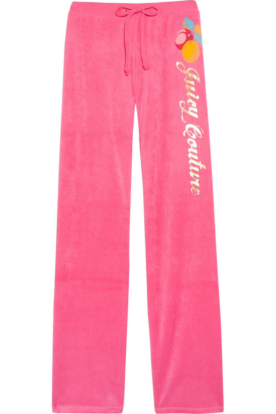 Lyst Juicy Couture Printed Velour Track Pants In Pink