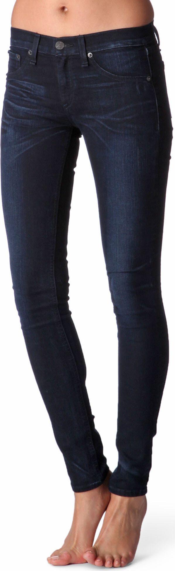 4896f30747daaf Rag & Bone Derby Legging Jeans in Blue - Lyst
