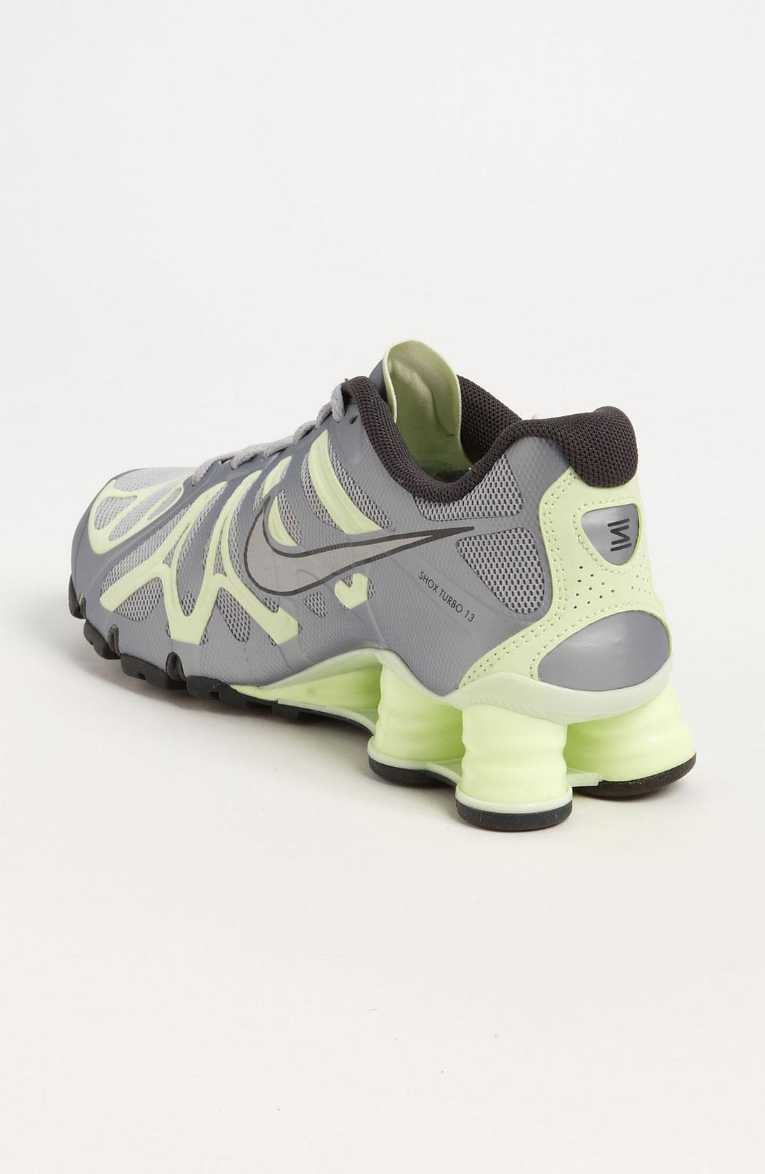 Nike Shox Turbo 13 Cool Grey Volt