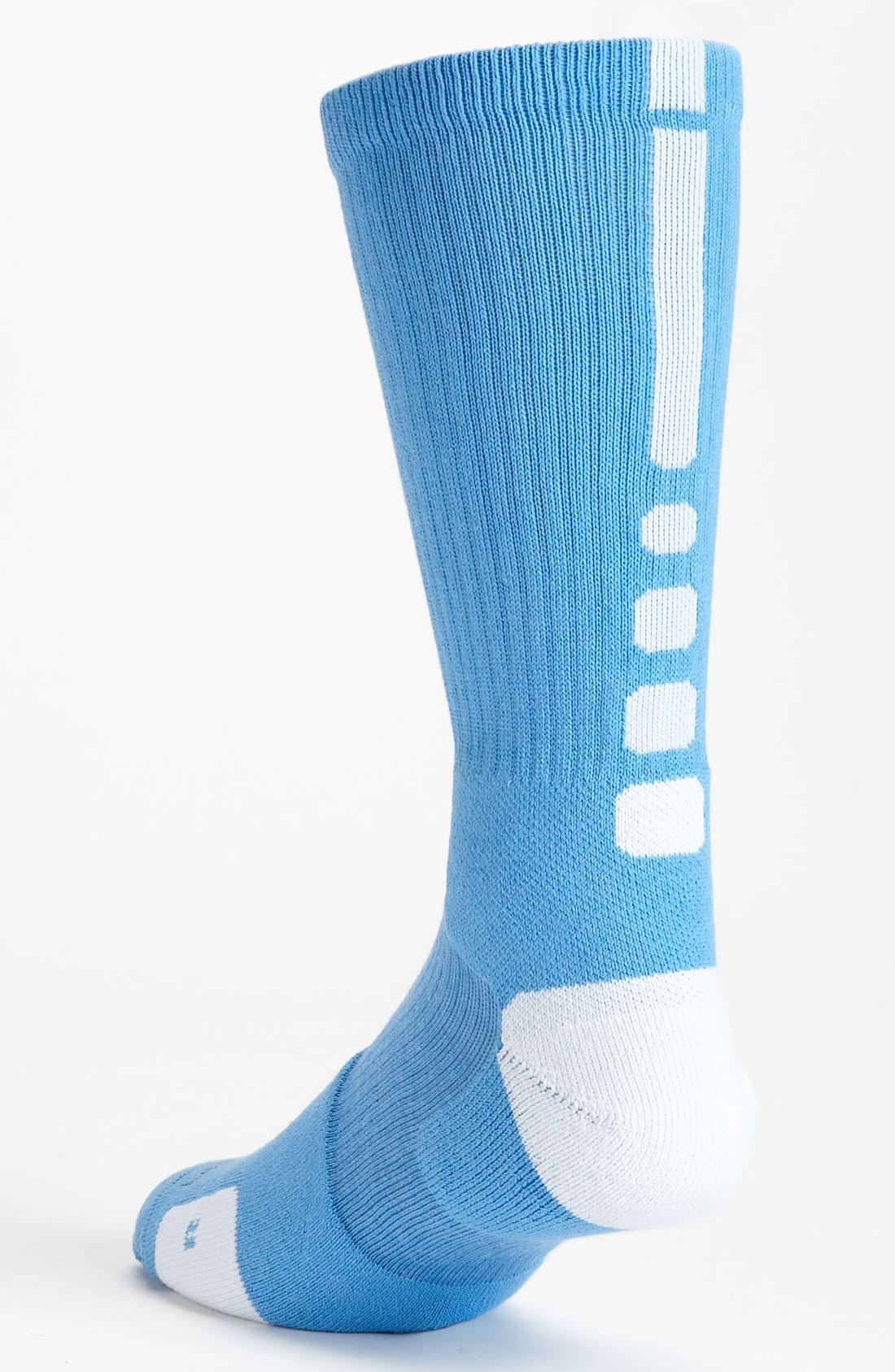 Nike Elite Basketball Crew Socks In Blue For Men Lyst