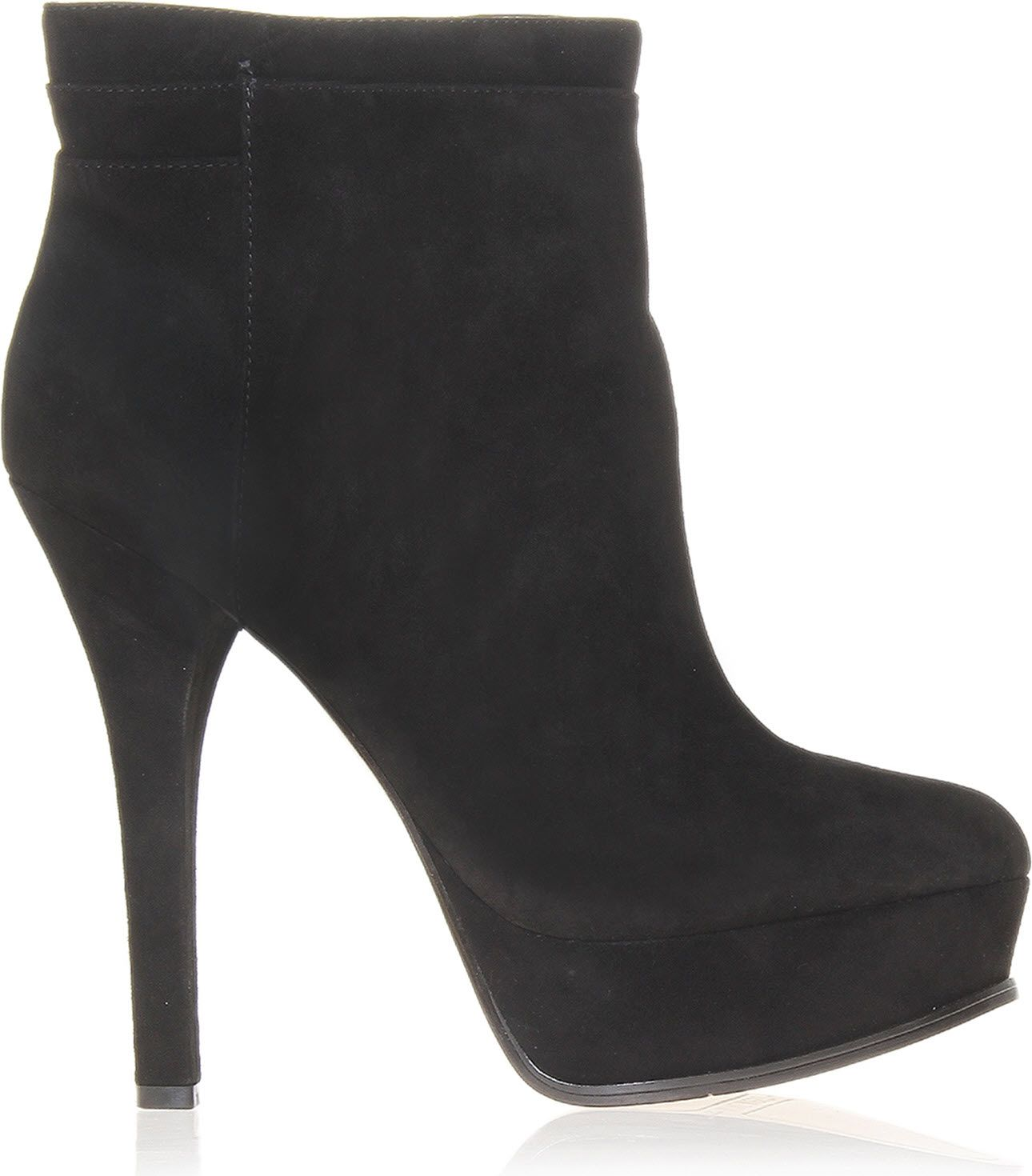 nine west likeaqueen suede ankle boots in black lyst