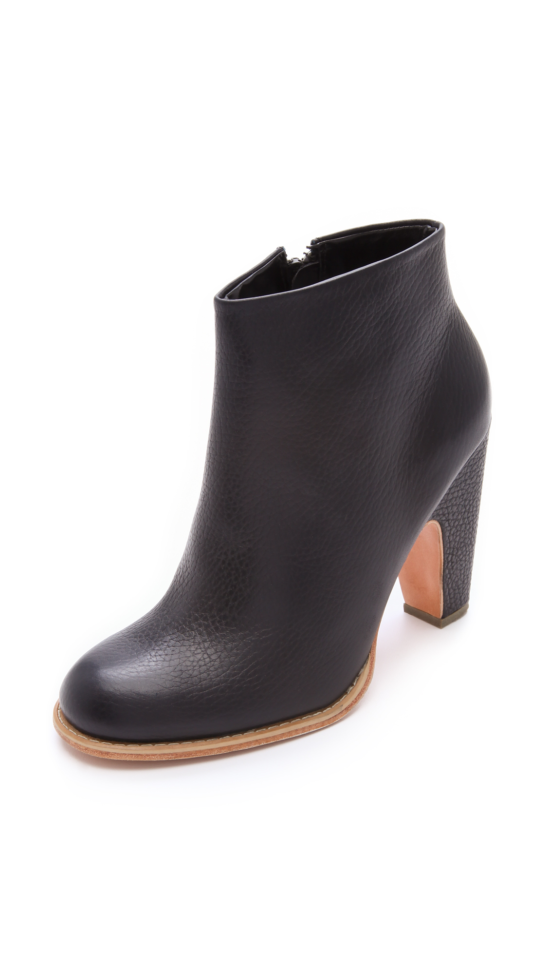 Rachel Comey Willow Leather Ankle Boots low shipping cheap online YuZNs5tv