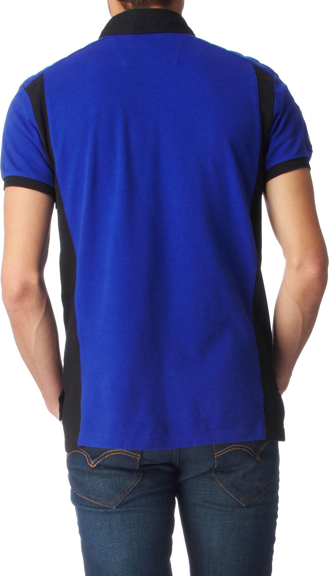 Lyst ralph lauren customfit big pony club polo shirt in for Ralph lauren polo club shirts