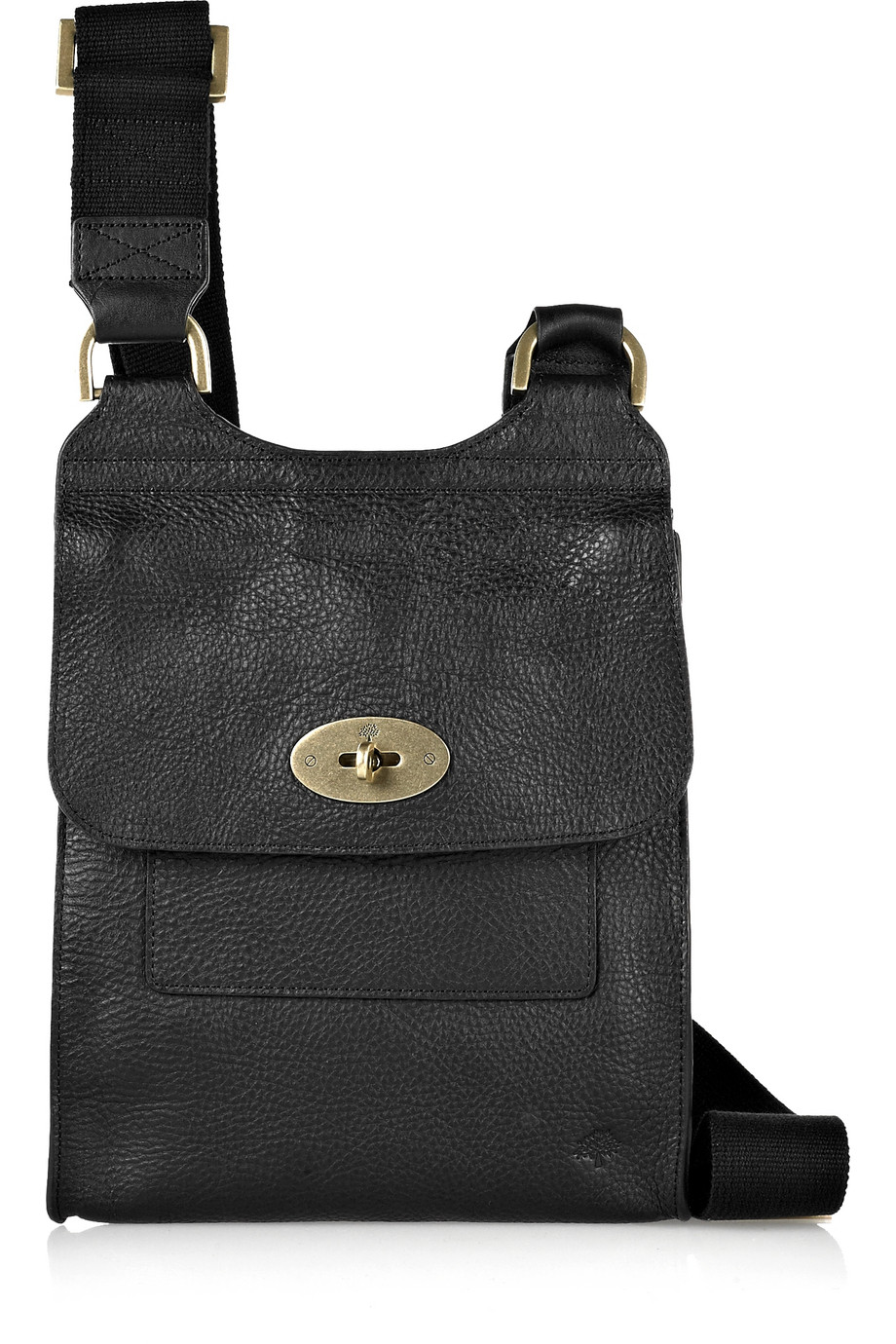 Bag At You Fashion Blog Hip E Bags White Backpack: Mulberry Antony Leather Crossbody Bag In Black