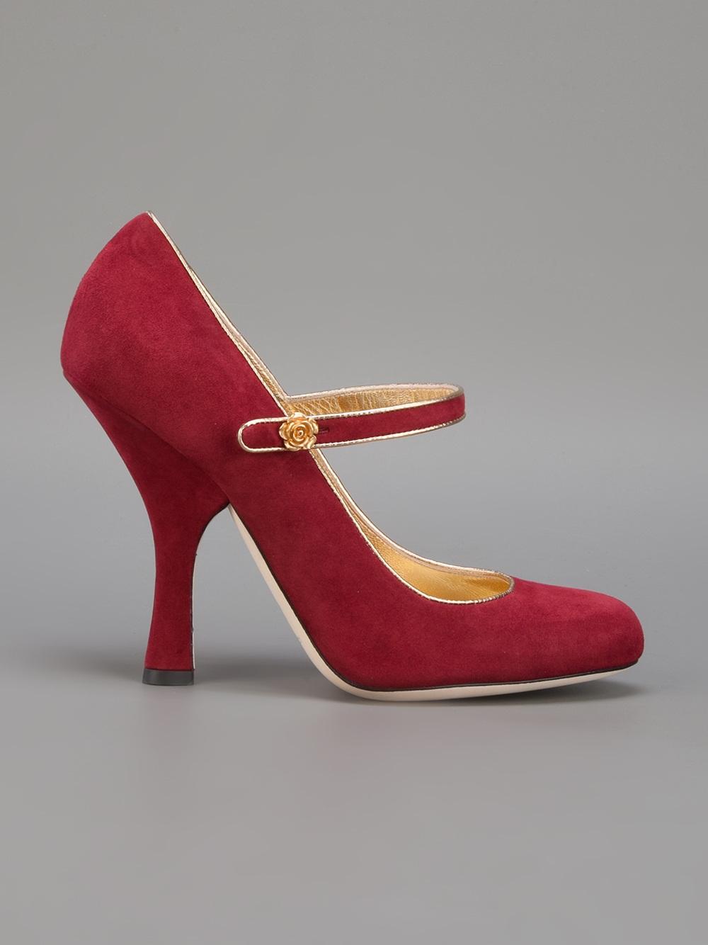 Crimson Red Heels - Qu Heel