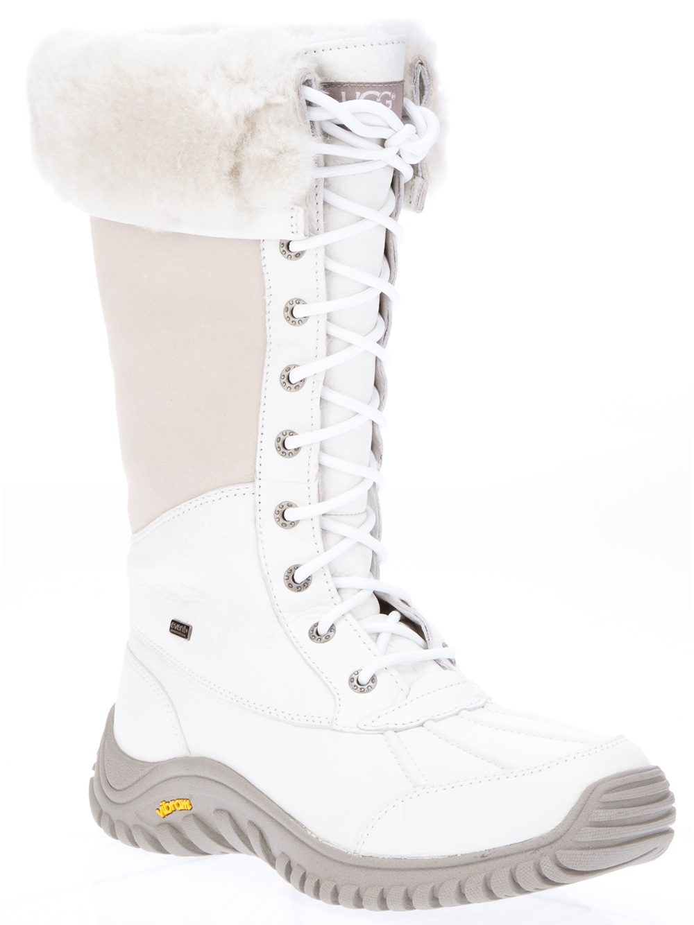 Ugg Adirondack Snow Boot In White Lyst