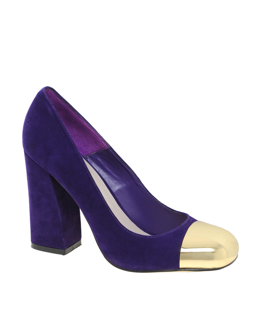 Purple Suede Shoes H And M