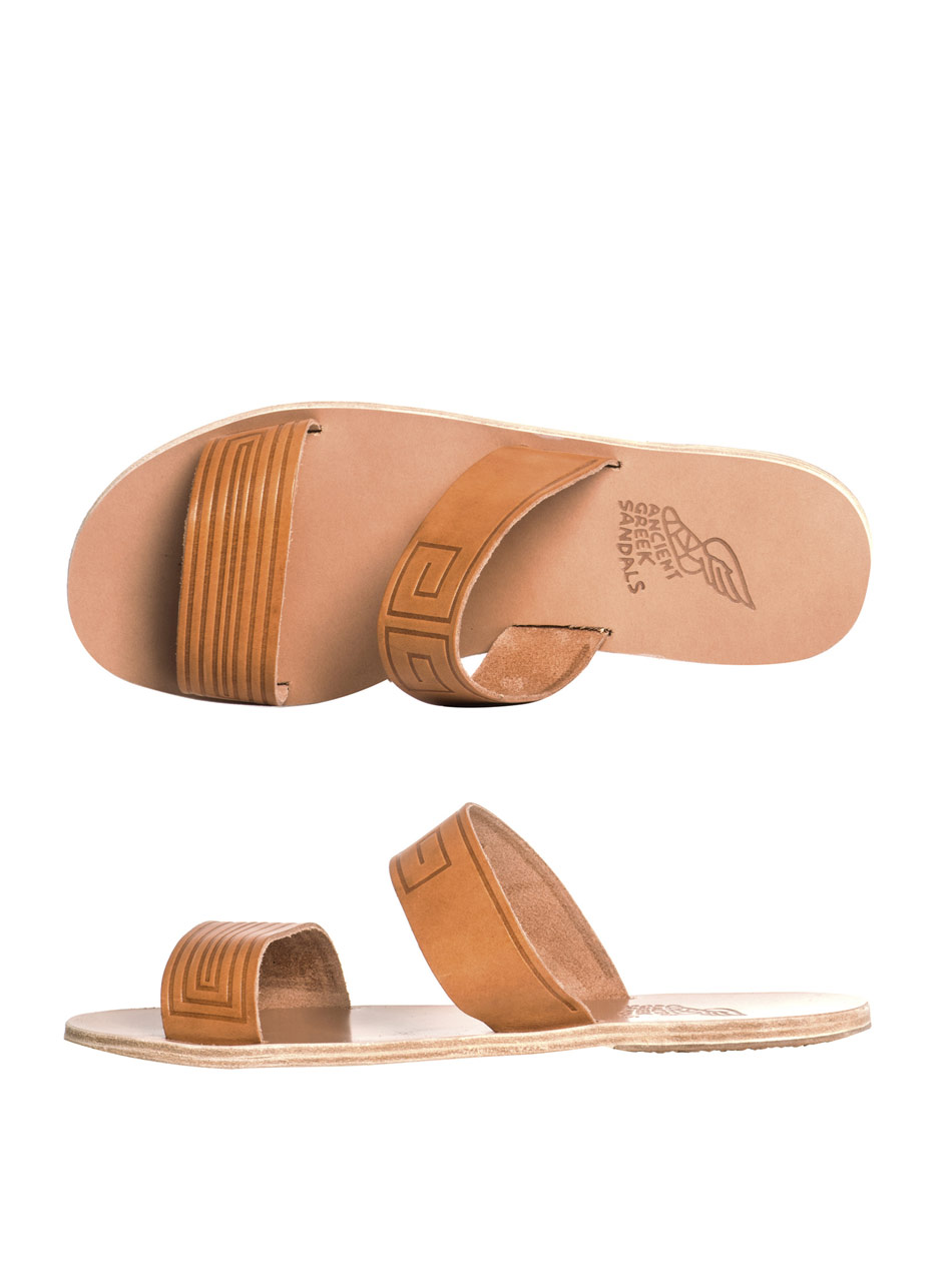 Lyst Ancient Greek Sandals Zeus Sandals In Brown For Men