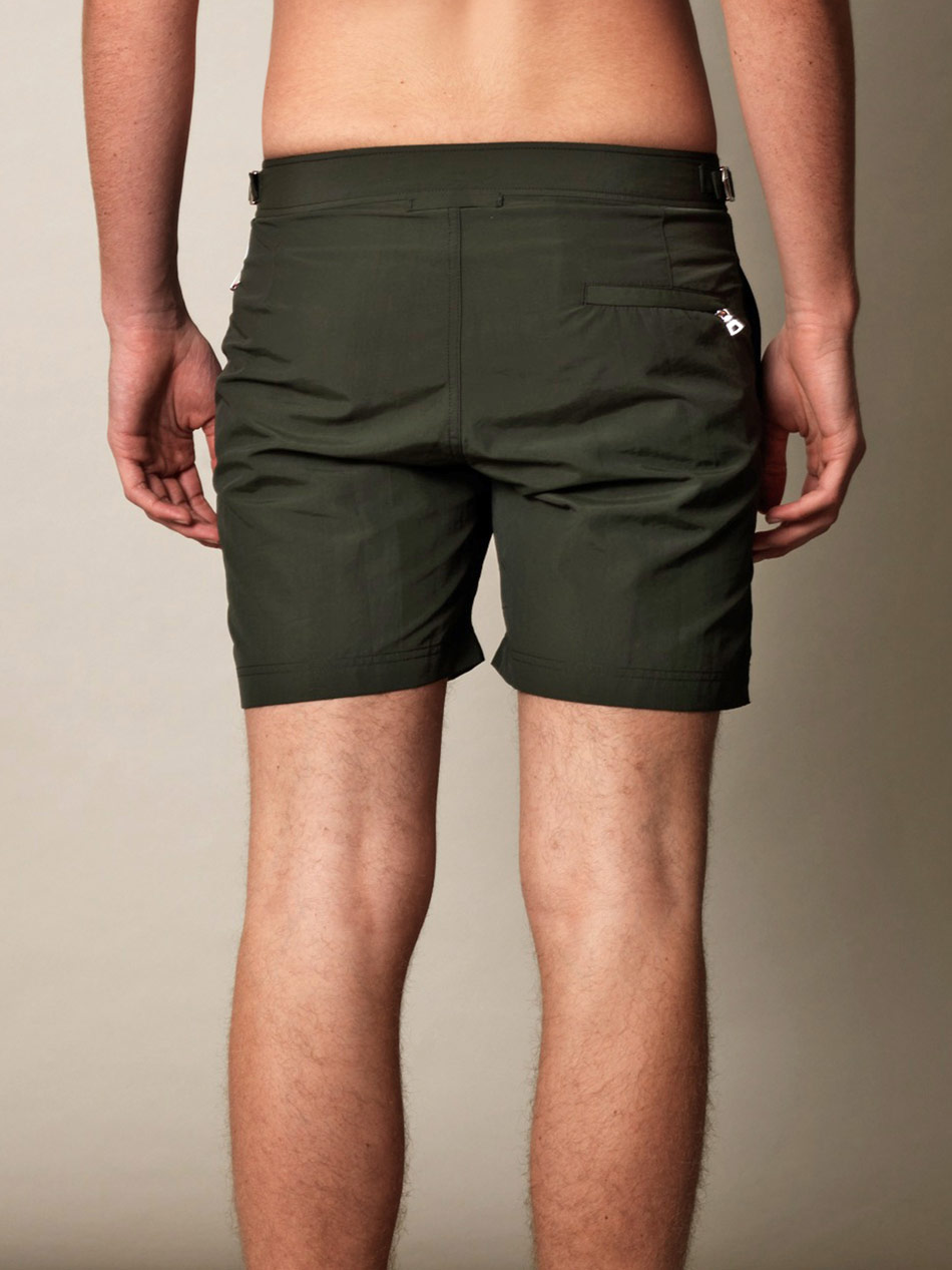 Orlebar brown Bulldog Swim Shorts in Green for Men | Lyst