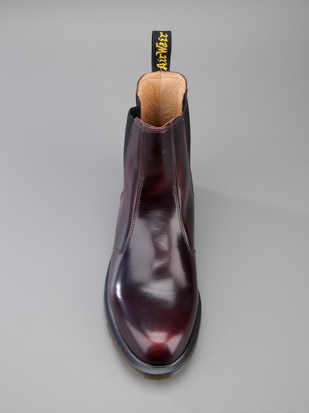 d74223f0a8324 Dr. Martens Flora Unisex Chelsea Boot in Purple - Lyst