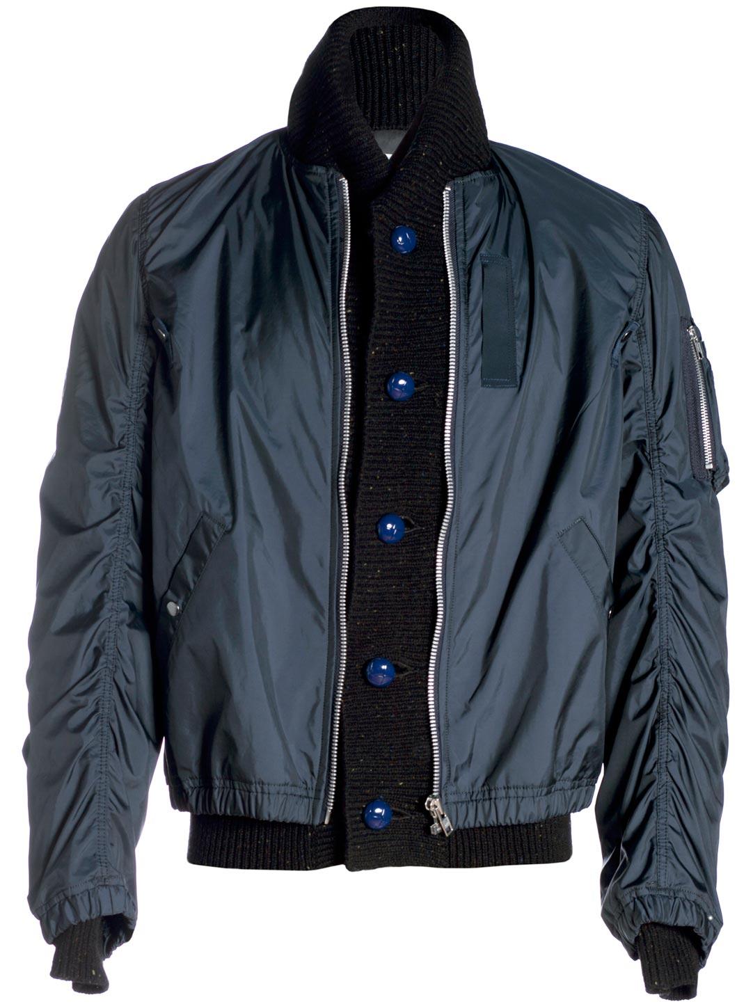 Jeu À Trouver Les Meilleurs Jeu Style De Mode Silk-blend Ripstop Jacket - Navysacai 2018 La Vente En Ligne Coût De Dédouanement Abordables À Vendre 8wqi9WT