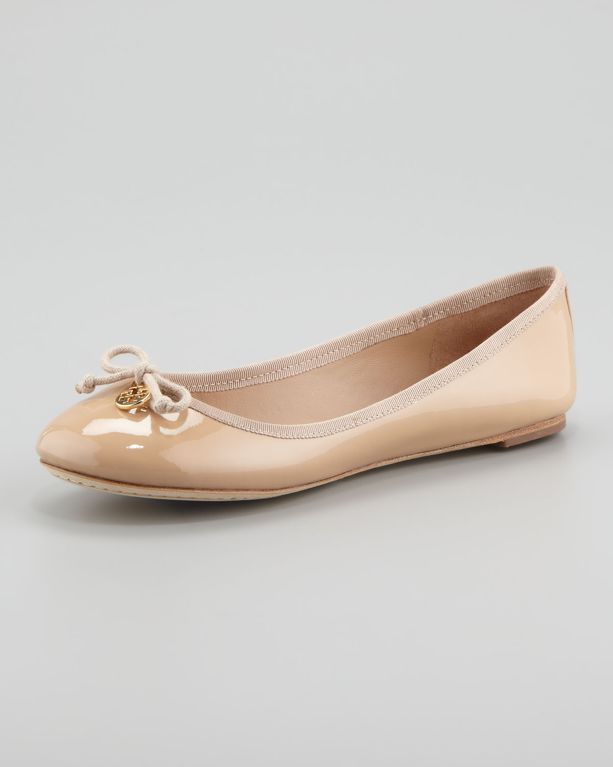 Tory Burch 10MM CHELSEA LEATHER & PATENT FLATS Free Shipping With Mastercard Buy Cheap Amazon Cheap Get To Buy nleqJe