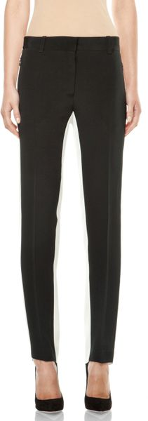 3.1 Phillip Lim Shadow Pencil Trouser in Black Antique White in Black (black & antique white)