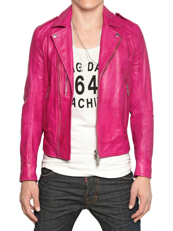Mens Pink Jacket Photo Album - Reikian