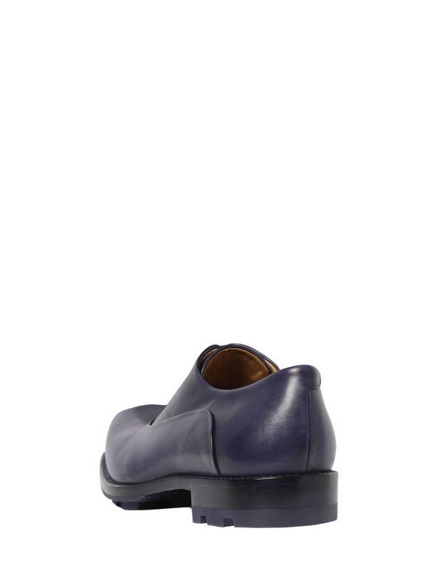 wiki cheap online good selling online Jil Sander Leather Square-Toe Oxfords free shipping very cheap 1R6X4A