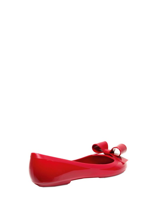 4a6ca99dc Lyst - RED Valentino Rubber Ballerina Flats in Red