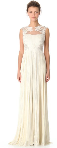 Catherine Deane Norah Long Gown in White (ivory)