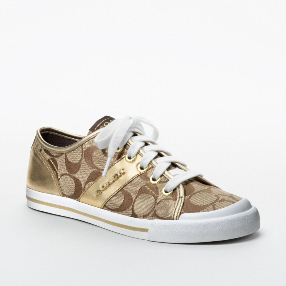 57373e82c0d Lyst - COACH Fillmore Sneaker in Natural
