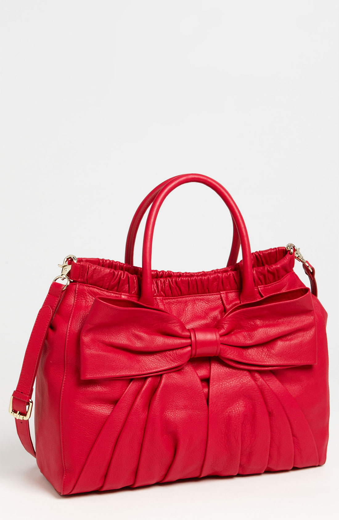 Bag At You Fashion Blog Hip E Bags White Backpack: Red Valentino Bow Top Handle Bag In Red (cherry)