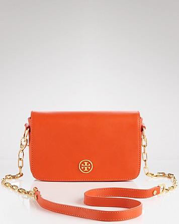 Tory burch Shoulder Bag Robinson Adjustable Chain Mini in Orange ...