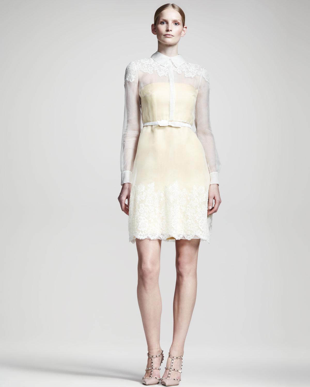 White valentino dresses
