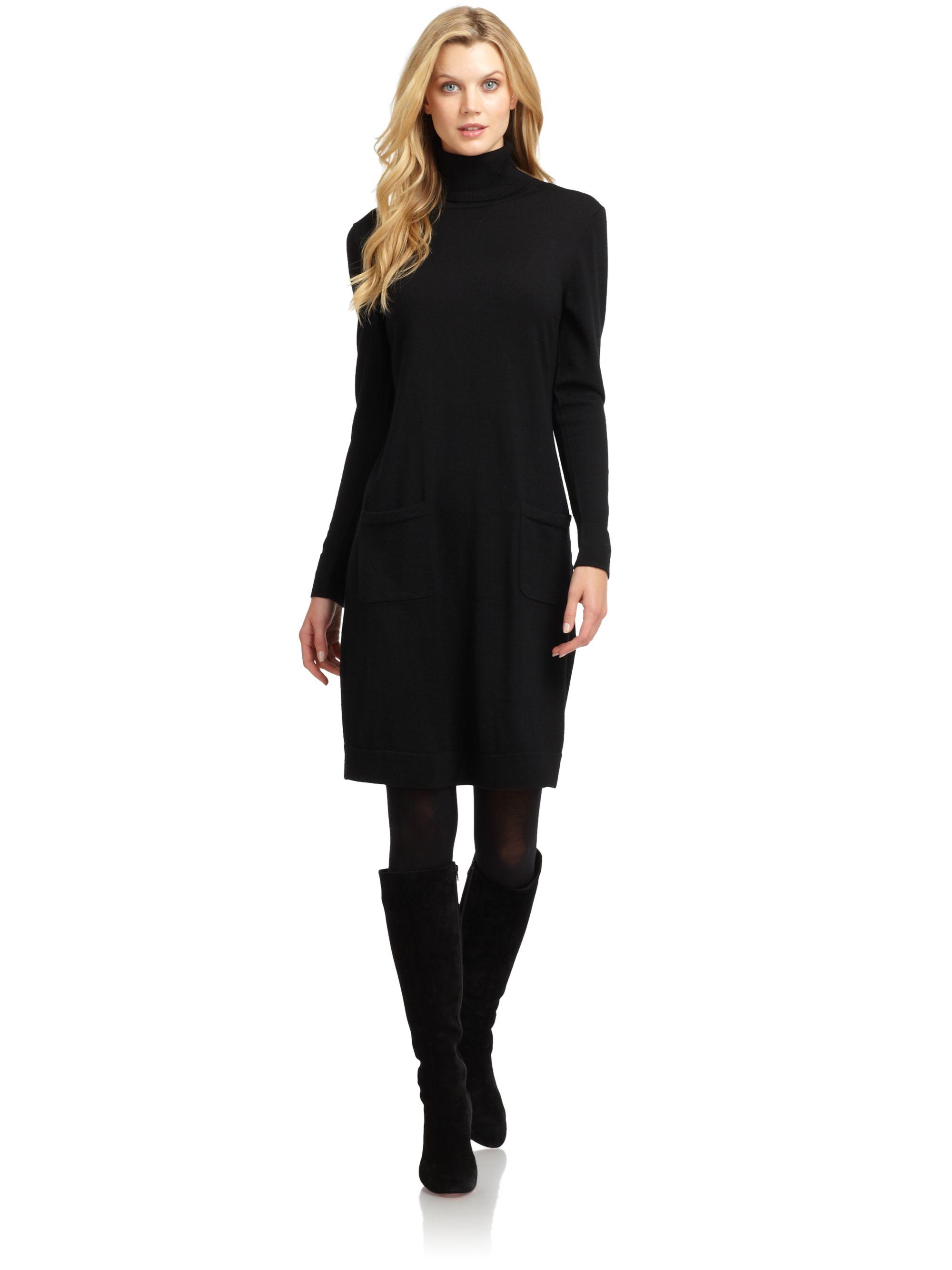 Turtleneck Sweater Dress - DriverLayer Search Engine