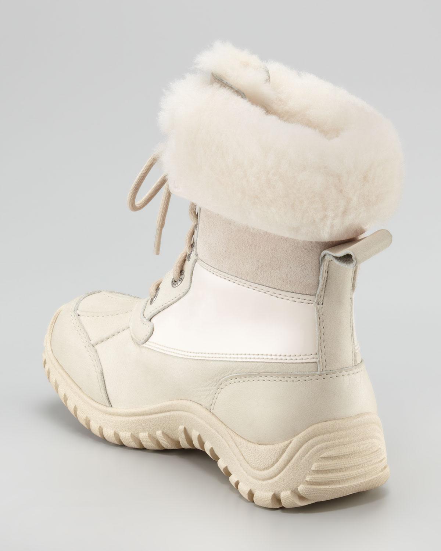ugg adirondack allweather boot in beige black lyst. Black Bedroom Furniture Sets. Home Design Ideas