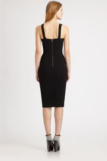 Burberry Prorsum Bustier Dress - Lyst