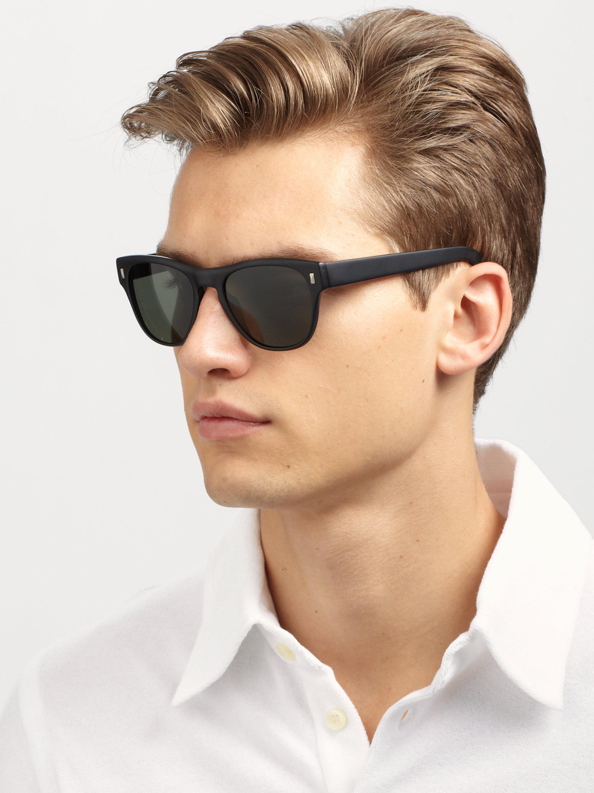 8919c9b49f Oliver Peoples Shean Acetate Sunglasses in Black for Men - Lyst