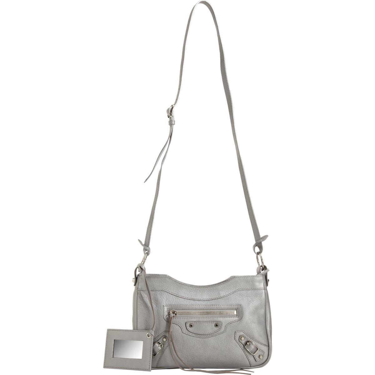 ce272c0bec Lyst Balenciaga Clic Silver Pearly Hip In Metallic. Gallery. Gallery. Clic Hip  Leather Shoulder Bag Balenciaga Mytheresa