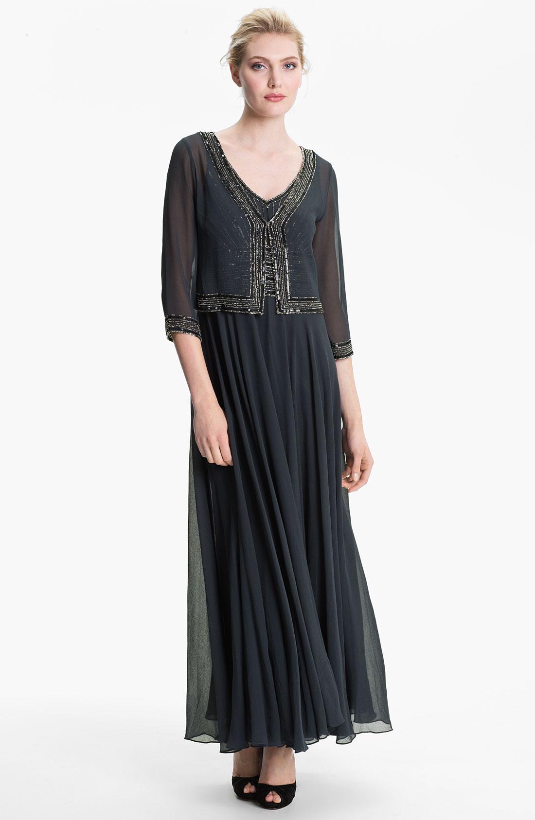 J Kara Plus Size Evening Dresses Cocktail Dresses 2016
