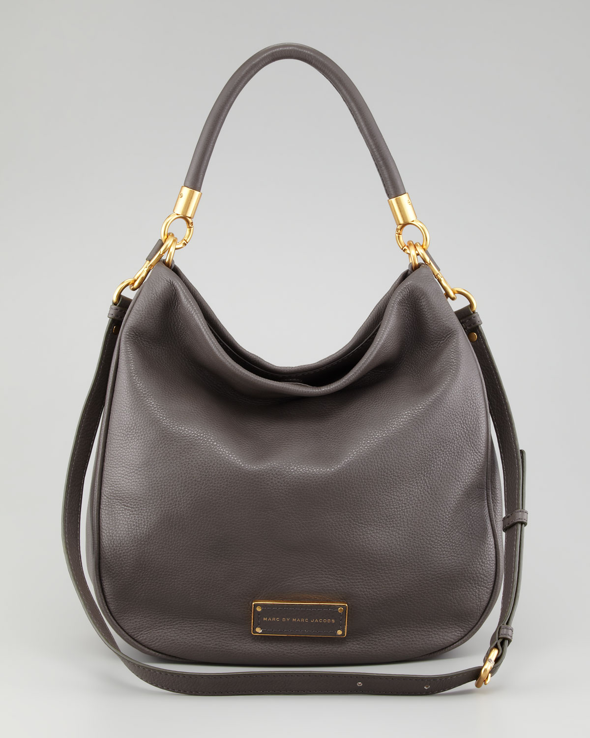 marc by marc jacobs too hot to handle hobo bag in gray lyst. Black Bedroom Furniture Sets. Home Design Ideas